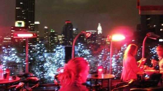 Rooftop Bar a New York