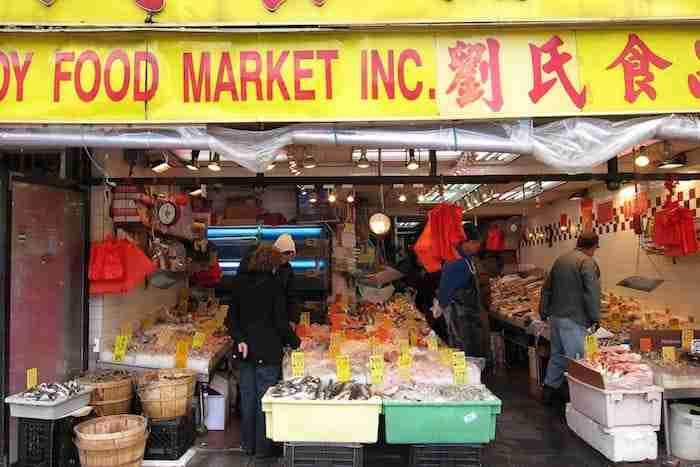 Mercato del pesce, Chinatown