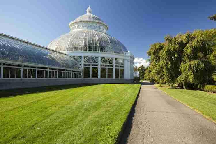 Enid Haupt Conservatory al New York Botanical Garden