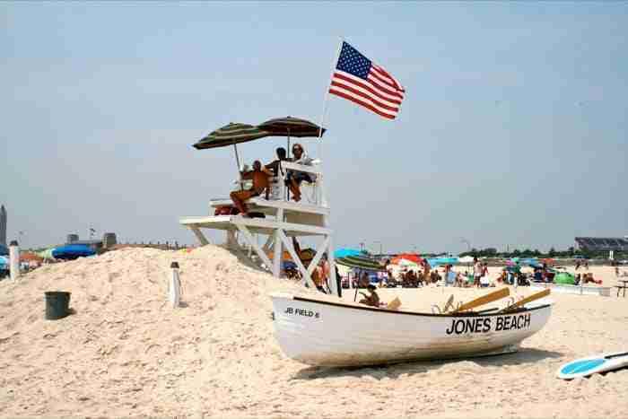 La spiaggia di Jones Beach a Long Island