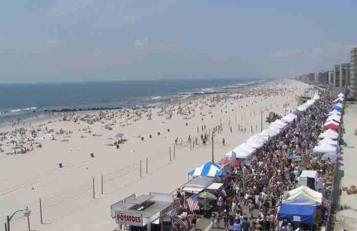 La spiaggia di Long Beach