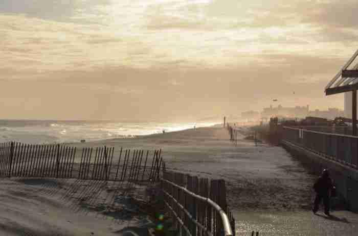 La spiaggia di Rockaway, nel Queens