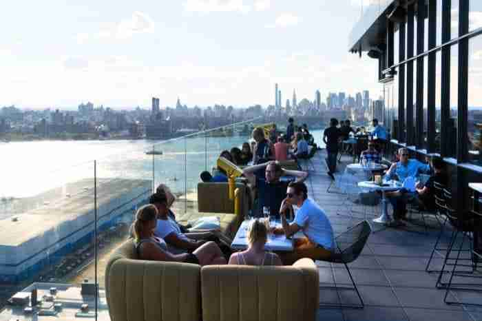 Rooftop bar Westlight