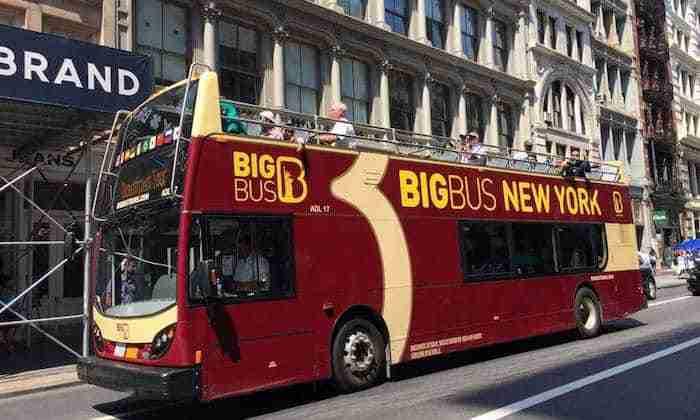 Big Bus Tour New York