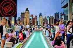 Tour rooftop New York