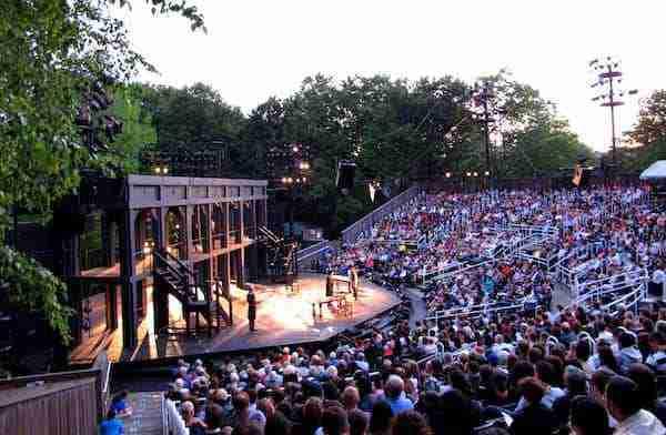 Shakespeare in the Park, New York