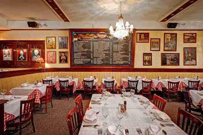 Il ristorante Tony's di Napoli