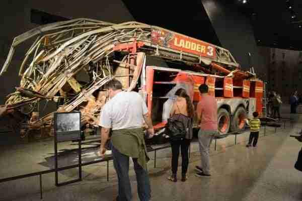 9/11 Museum: il Ladder 3 aveva il compito di evacuare i civili