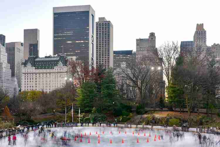 Wollman Rink a Central Park