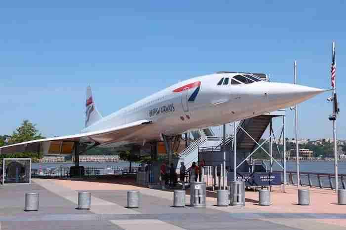 Concorde all'Intrepid Museum