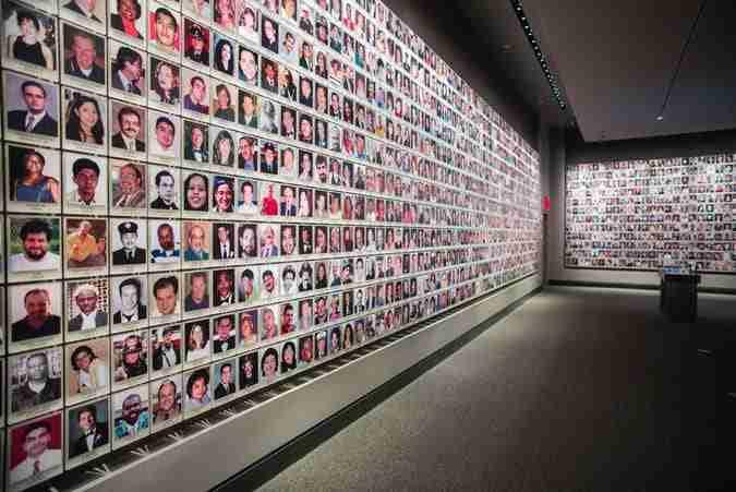 memorial exhibition, 9/11 museum