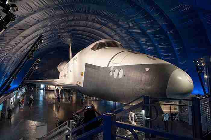 Space Shuttle all'Intrepid Museum
