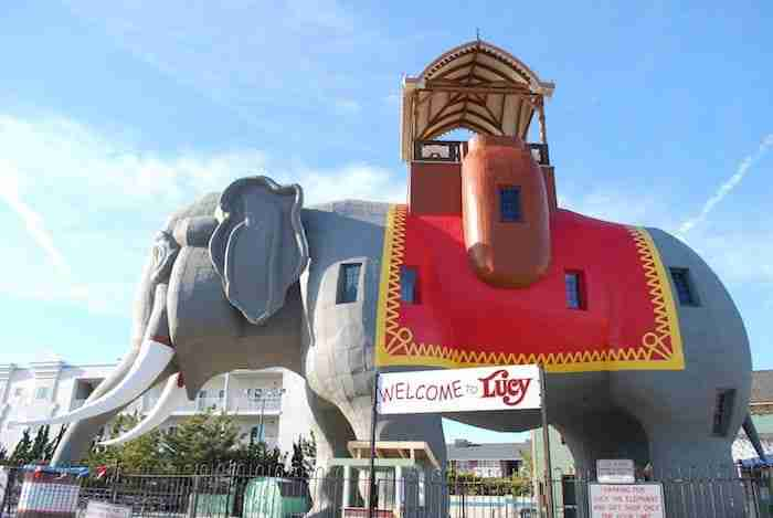 L'elefante Lucy ad Atlantic City