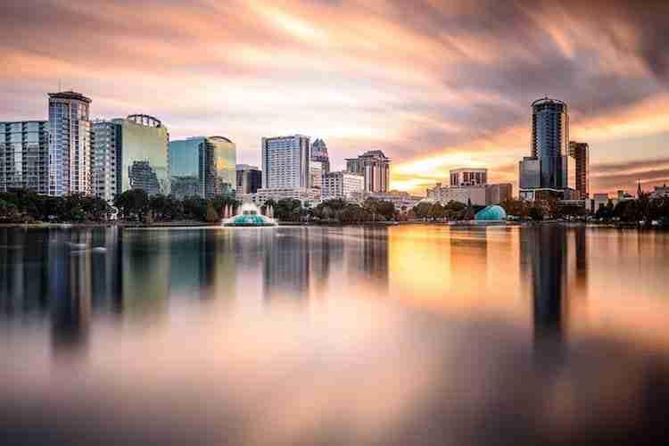 Lo skyline di Orlando