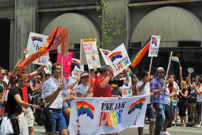 Gay Pride, New York