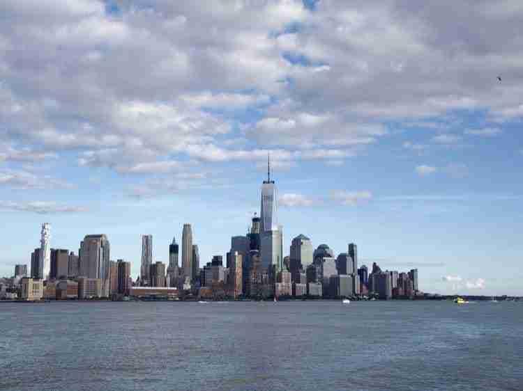Vista da Hoboken