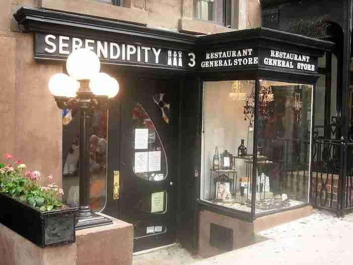 Il ristorante Serendipity nell'Upper East Side