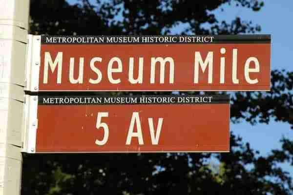 Museum Mile, 5th avenue