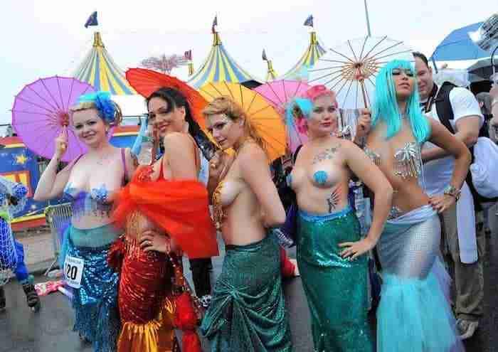 La Mermaid Parade a Coney Island