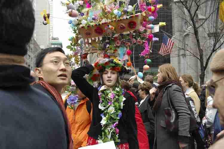 I particolari cappelli che si indossano a Pasqua