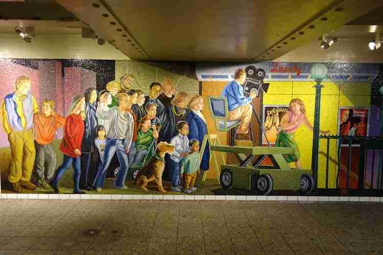 Tour dell'arte nella metro di New York