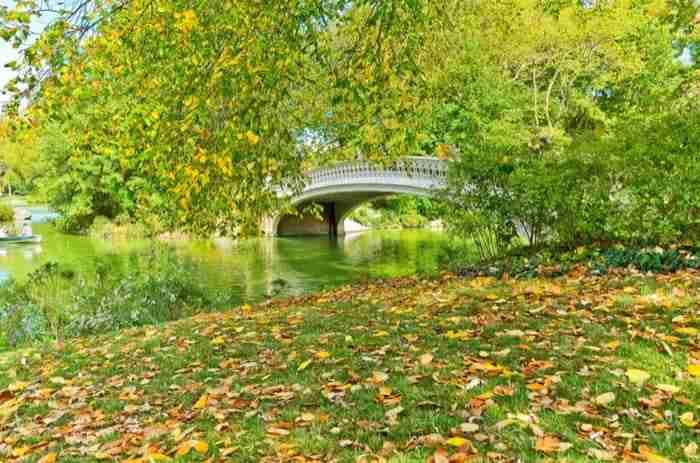 Bow Bridge, una delle zone più romantiche del parco