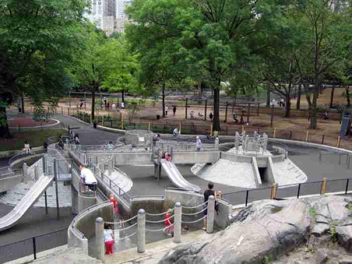 heckscher playground