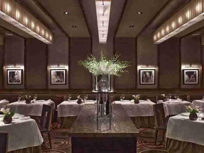Aureole, ristorante stellato Michelin