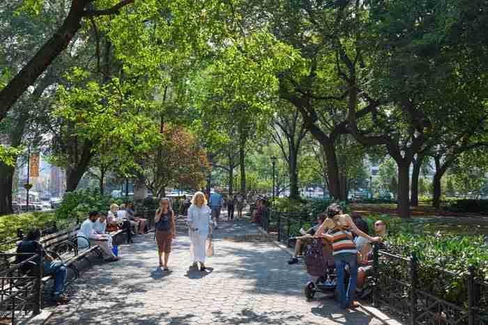union square park