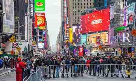10 consigli utili per la serata di Capodanno a Times Square