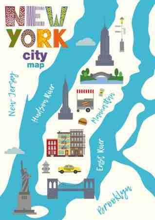 Mappa di Manhattan