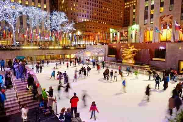 Pista di pattinaggio del Rockefeller Center