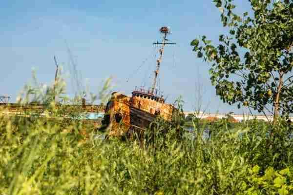 Cimitero delle barche di Staten Island