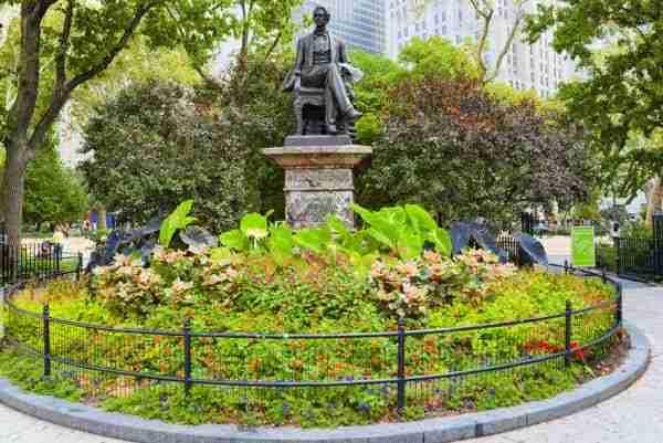 Statua di William Henry Seward