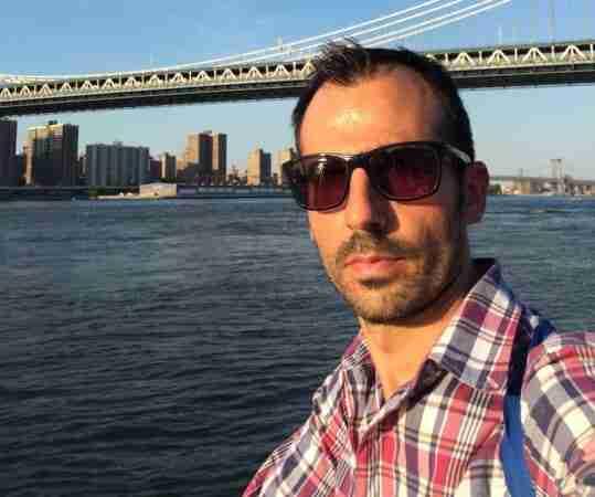 Carlo Galici a New York da solo nel 2016
