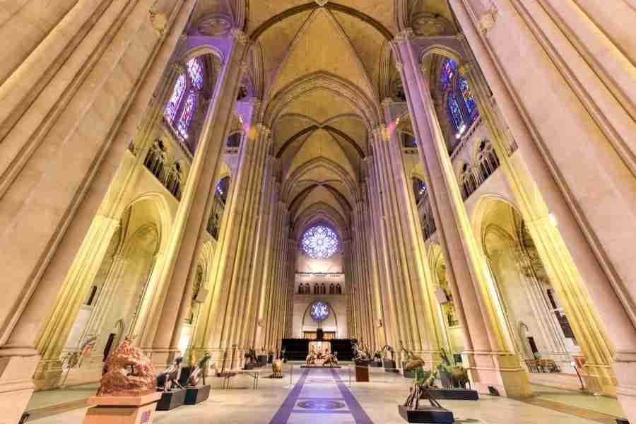 Interni della Cattedrale Saint John the Divine, New York